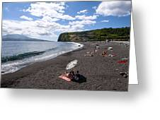 Beach With A View Greeting Card