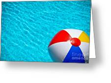 Beachball 1 Greeting Card