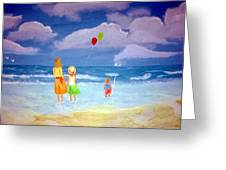 Beachbaloons Greeting Card