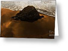 Beaches Of Gold Greeting Card