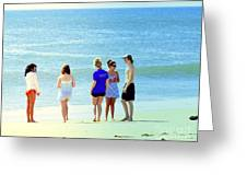 Beaches Of Point Pleasant Nj Greeting Card