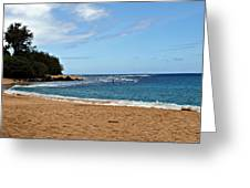 Beachfront Greeting Card
