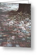 Beacon Hill Brick Greeting Card