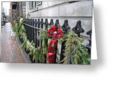 Beacon Hill Fencing Greeting Card