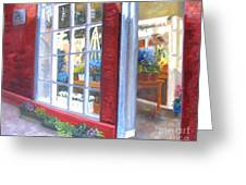 Beacon Hill Flower Shop Greeting Card