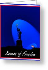 Beacon Of Freedom  Greeting Card