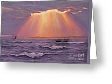 Beacons Of Light Greeting Card