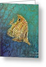Beaked Butterflyfish Greeting Card