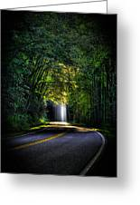 Beam Me Up Great Smoky Mountains Tennessee Mountains Art Greeting Card