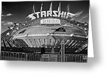 Beam Me Up Scotty Monochrome Greeting Card