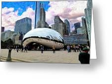 Bean There Greeting Card