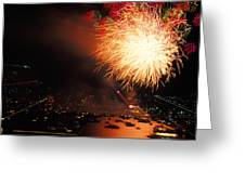 Beantown 4th Of July Greeting Card