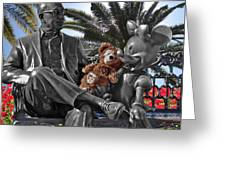 Bear And His Mentors Walt Disney World 06 Greeting Card