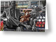 Bear And His Mentors Walt Disney World 07 Greeting Card