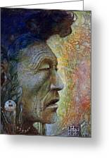 Bear Bull Shaman Greeting Card