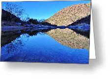 Bear Canyon Pool Greeting Card