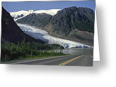 Bear Glacier Greeting Card