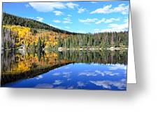 Bear Lake Reflection Greeting Card by Tranquil Light  Photography