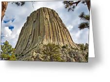 Bear Lodge National Historic Landmark Greeting Card