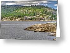 Bear River Creek Reservoir Greeting Card
