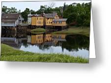 Bear River Reflections Greeting Card
