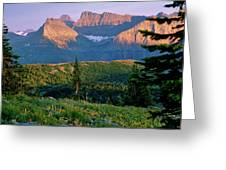 Bear Valley Glacier National Park Greeting Card