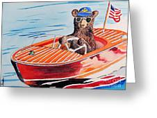 Bearboat Greeting Card