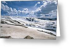 Beartooth Headwall Greeting Card