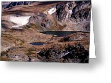 Beartooth Highway Cirques Greeting Card
