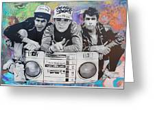 Beastie Boys Greeting Card