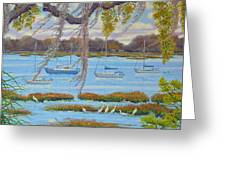 Beaufort Anchorage Greeting Card