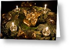 Beautiful Advent Wreath Greeting Card
