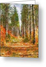 Beautiful Autumn Greeting Card