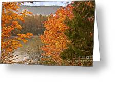 Beautiful Autumn Gold Art Prints Greeting Card