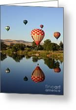 Beautiful Balloon Day Greeting Card