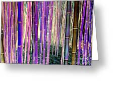 Beautiful Bamboo Greeting Card