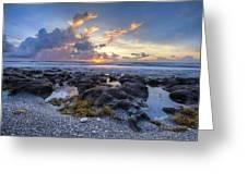 Beautiful Beach Greeting Card