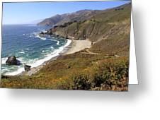 Beautiful Big Sur Coastline Greeting Card