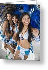 Beautiful Women Of Brazil 2 Greeting Card