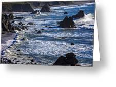 Beautiful California Coast Greeting Card