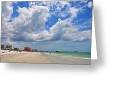 Beautiful Clearwater Beach Greeting Card