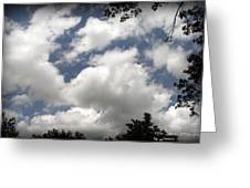 Beautiful Clouds Roll By Greeting Card