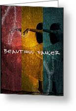Beautiful Dancer Greeting Card
