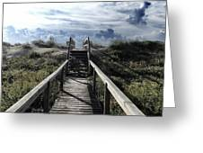 Beautiful Day At Cape Hatteras Greeting Card by Patricia Januszkiewicz
