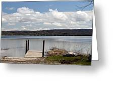 Beautiful Day At The Lake Greeting Card