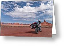 Beautiful Day For A Ride Greeting Card