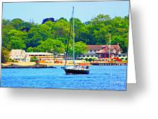 Beautiful Day For Sailing Greeting Card