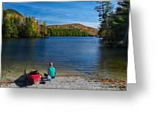 Beautiful Day To Kayak Greeting Card