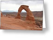 Beautiful Delicate Arch Greeting Card