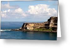 Beautiful El Morro Greeting Card